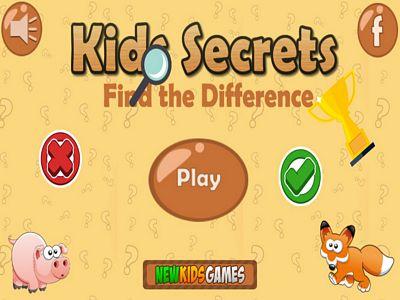 孩子的秘密找不同