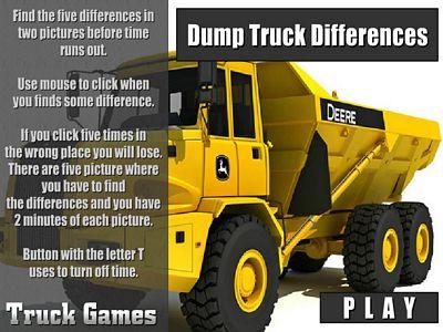 Dump卡車找不同