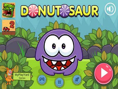 怪物愛吃甜甜圈