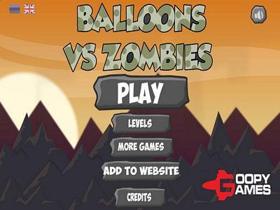 氣球大戰殭屍:跳關版