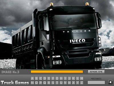 Iveco卡車找字母