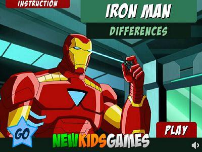 鋼鐵人找不同2