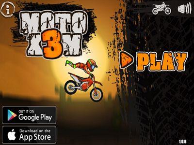 沙漠特技摩托車