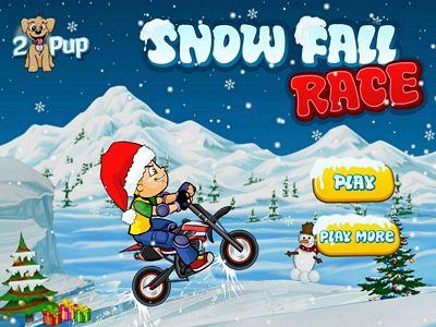 雪地特技摩托車