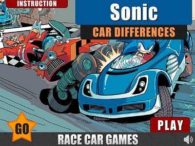 音速小子汽車找不同