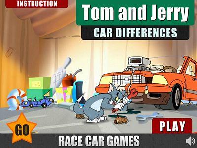 貓和老鼠汽車找不同