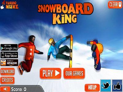 滑雪板王:修改版