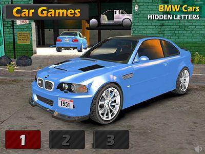 BMW找字母