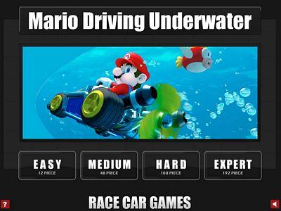 瑪利歐水底賽車來拼圖