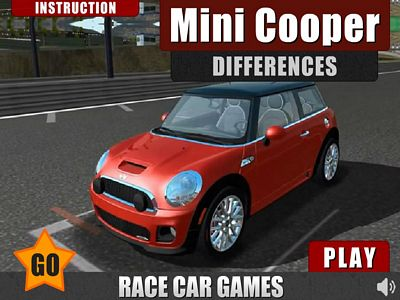 Mini Cooper 找不同