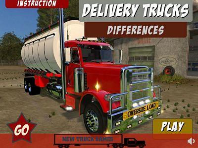 送貨卡車找不同