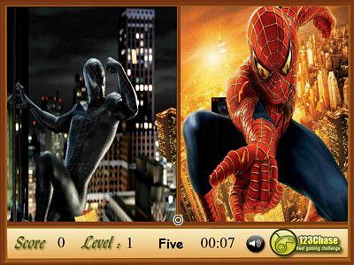 蜘蛛人找相同
