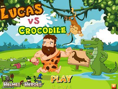 原始人與鱷魚:修改版