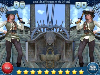 女海盜找不同