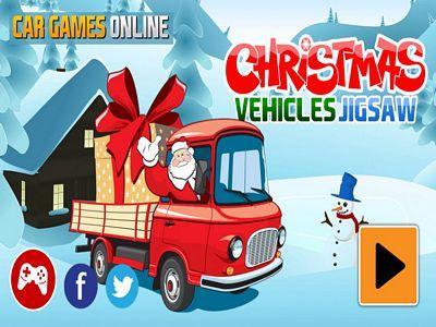 聖誕卡車拼圖