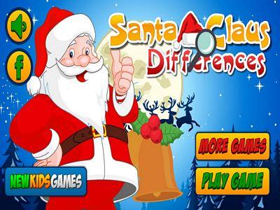 聖誕老人找不同