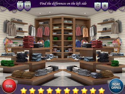 服飾店找不同