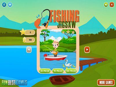 釣魚假期拼圖