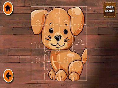 歡樂小狗拼圖