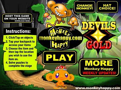 開心猴子:惡魔黃金