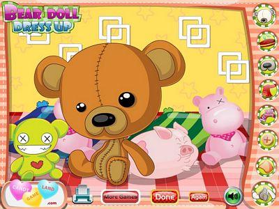 可愛娃娃熊