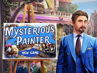 神秘的畫家來找碴