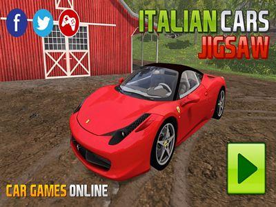 義大利汽車拼圖