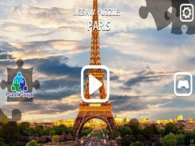 美麗巴黎拼圖