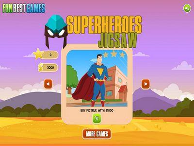 超級英雄來拼圖