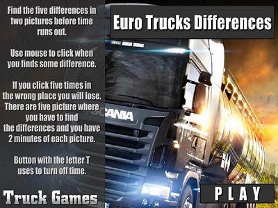 歐洲卡車找不同
