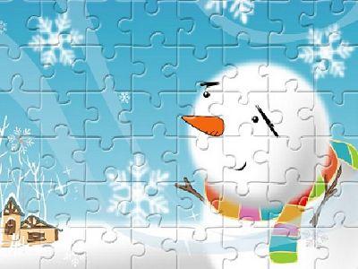 開心聖誕拼圖