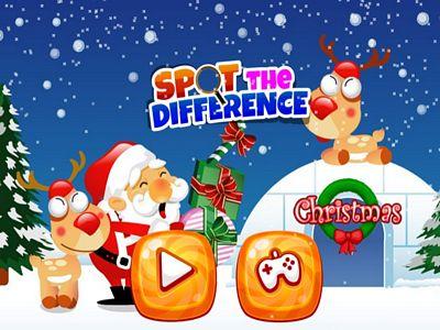 聖誕圖片找不同