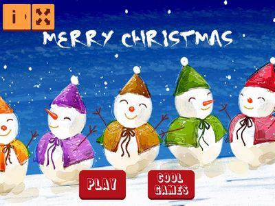 聖誕雪人拼圖