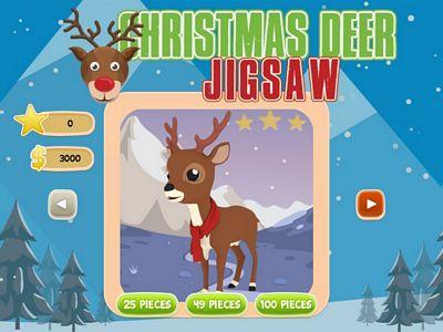 聖誕鹿拼圖