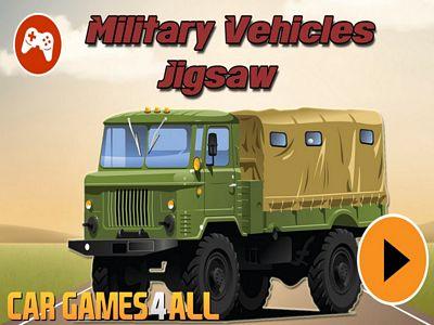 軍用卡車拼圖