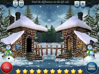 雪屋找不同
