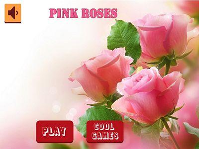 粉紅玫瑰拼圖