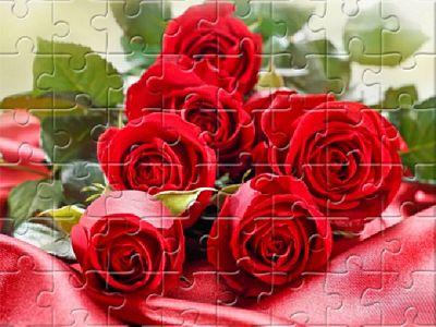 紅玫瑰拼圖