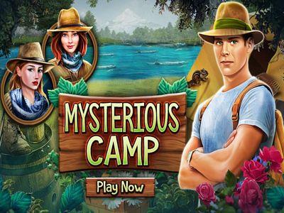 神秘的營地來找碴
