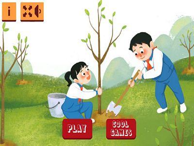 植樹節拼圖