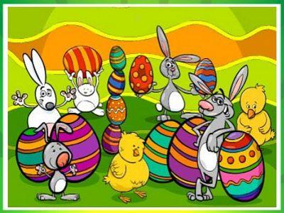 開心復活節來找碴