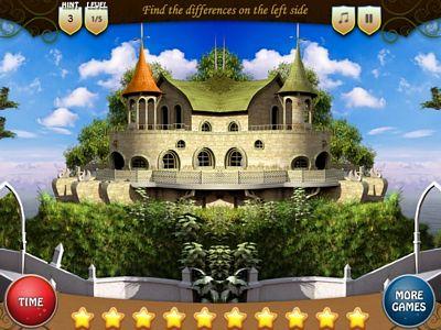 奇幻城堡找不同