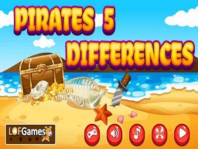 海盜找不同