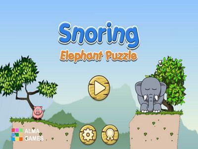 大象打瞌睡