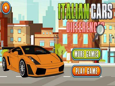義大利汽車找不同