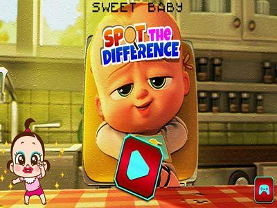 可愛寶寶找不同