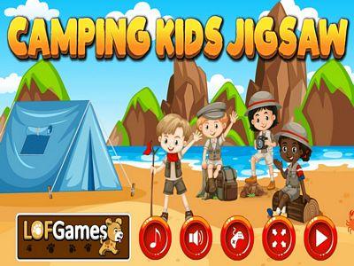 野外露營拼圖