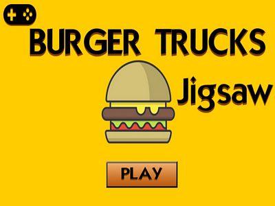 漢堡餐車拼圖