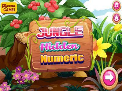 叢林找數字