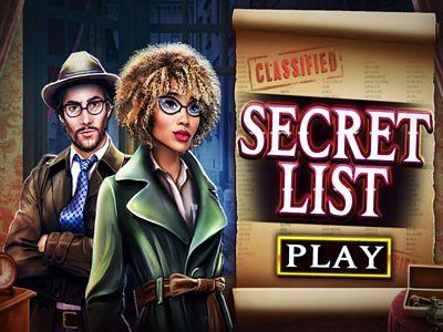 秘密清單來找碴